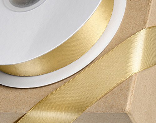 Club Verde Cinta de Raso, luz de Oro, 6mm x 25m