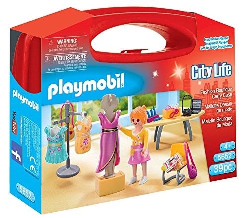 Playmobil 5652.0 Spielset Modeatellier im Koffer