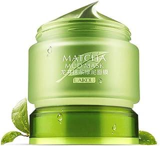 Lurrose Matcha Masker met groene thee, verwijdert mee-eters, vermindert rimpels, voedend, hydraterend, voor alle huidgezic...