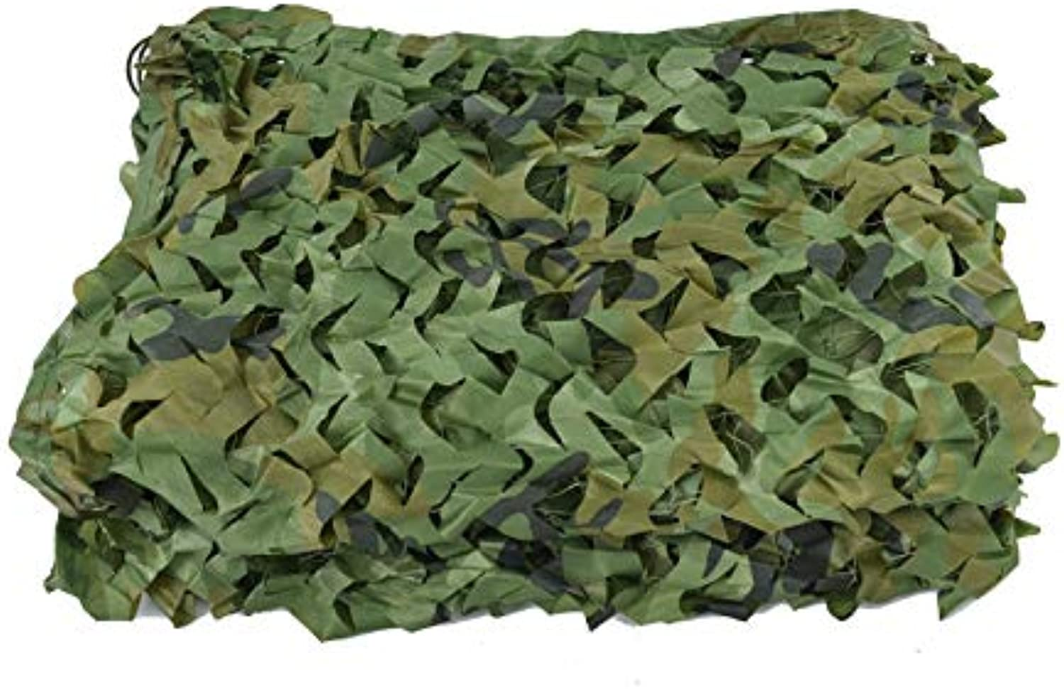 Camo Netting Woodland UV Resistant Shade Camouflage Mesh Netting for Outdoor Sunshade Decoration Hunting Blind Shooting Camping Photography