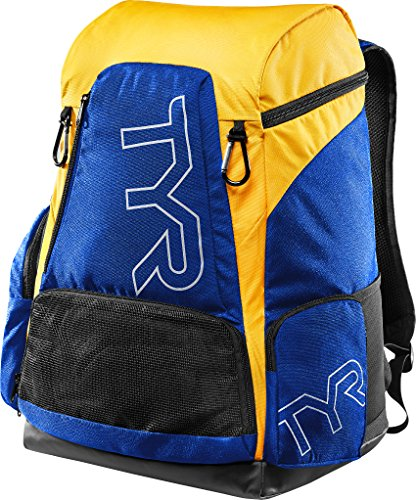 TYR Alliance Team® Rucksack, 45 l, Royal/Gold