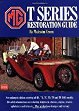 MG T Series Restoration Guide (Brooklands Books) by Malcolm Green (1993) Paperback