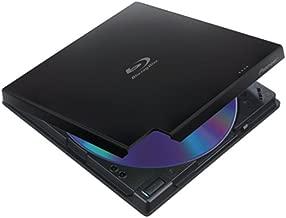 Pioneer BDR-XD05B 6x Slim Portable USB 3.0 Blu-Ray Burner (Black) - Supports BDXL/BD/DVD/CD - Bonus CyberLink Media Suite 10 Windows Software