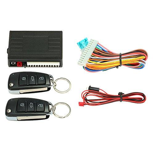 KKmoon - Mando a distancia para cerradura central del automóvil - Sistema de apertura sin llave Kit 5
