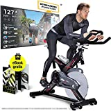 Sportstech Profi Indoor Cycle SX400 –Deutsche Qualitätsmarke-mit Video Events & Multiplayer APP,...