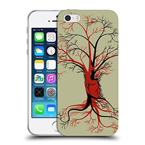 Offizielle Tobe Fonseca Wir Anatomie 2 Soft Gel Hülle für Apple iPhone 5 / 5s / SE