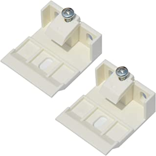 Cutelec 2Pack Support Brackets for 1inch Folding Blinds of Wide Beam