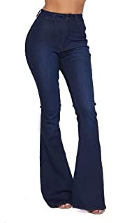 vintage high waisted bell bottom jeans