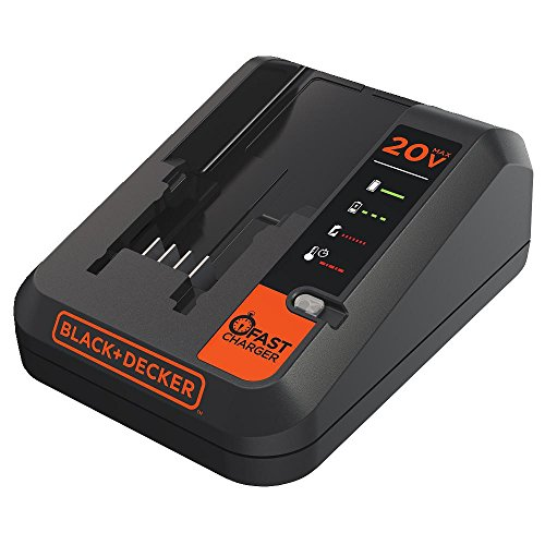 BLACK+DECKER 20V MAX Lithium Battery Charger, 2 Amp (BDCAC202B)