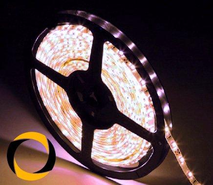 Preisvergleich Produktbild Ascending Composites LED Stripe White 60 LEDs / m DC-12-V White-PCB 5 Meter