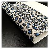 ZHHOOHAG Cuero Sintetico Brillo Brillante Tela PU Cuero Impermeable DIY DIY Bows Bows Arte A4 / A5 Hojas Polipiel para Tapizar (Color : 9 A5(20cm X 15cm))