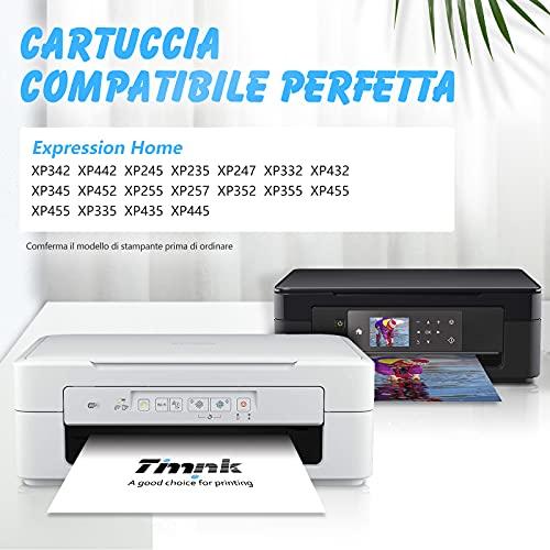 Timink 29 XL Cartuchos de Tinta Reemplazo de Epson 29XL Compatibles con Epson XP-255 XP-235 XP-345 XP-435 XP-245 XP-247 XP-332 XP-342 XP-432 XP-442 XP-445 (5 Paquetes)