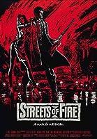 ポスター A4 ストリート・オブ・ファイヤー (1984) 光沢プリント