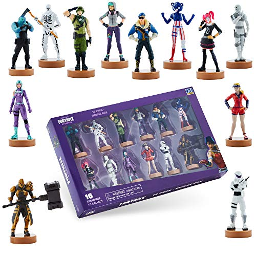 Fortnite Toys - Authentic Action Figures with Stamp, 12 Pack Deluxe Box – Elite Agent, Scratch & Other Popular Fornite Battle Royale Characters – Series 3 Collection for Boys & Girls (2of2)
