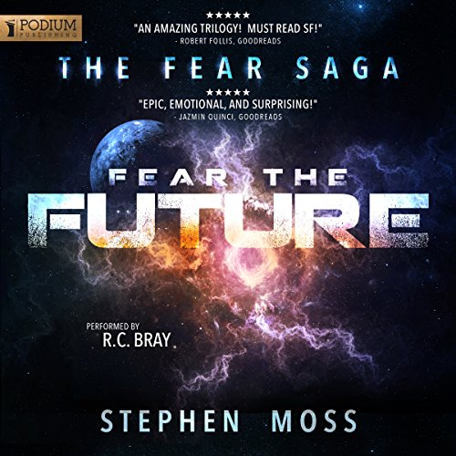 Fear the Future audiobook cover art