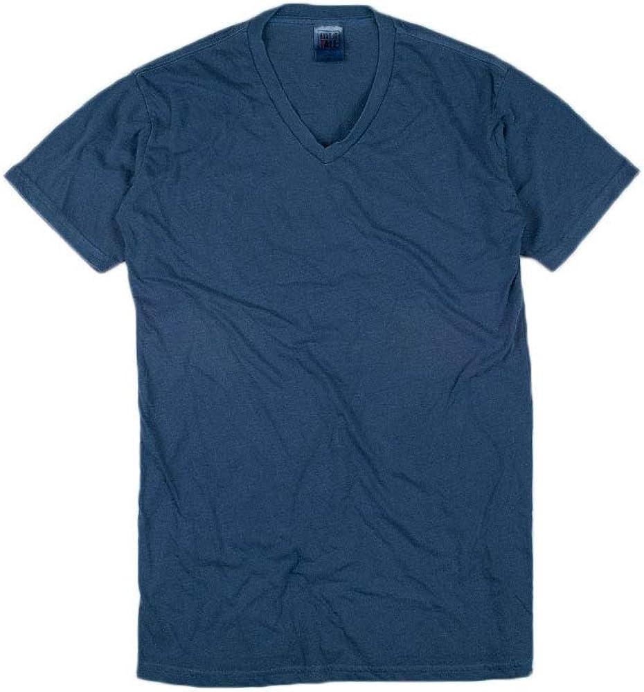 Have It Tall Men's V Neck Soft Blend Fabric T Shirt