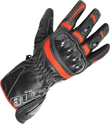 Büse Misano Damen Handschuhe 7 Schwarz/Rot