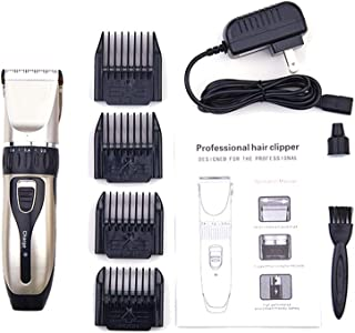 Dog Clippers, Cordless Dog Grooming Clippers Low Noise, Quiet Rechargeable Pet Hair Trimmer, Professional Dog Grooming Kit, Best Shaver Hair Clipper for Dogs Cats Pets