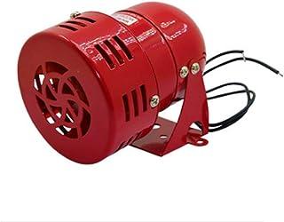 BAOSHISHAN Mini motor impulsado aire Raid Siren Metal Horn industria alarma de seguridad de emergencia 220