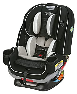 Graco 4Ever Extend2Fit 4 in 1 Car Seat   Ride Rear Facing Longer with Extend2Fit, Clove by Graco
