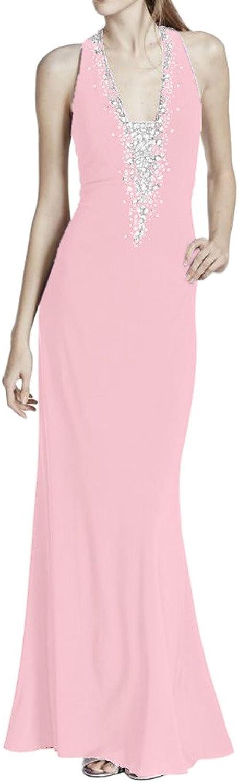 La Mariee Shinning Sequins DeepV Sleeveless Party Dresses Evening Dresses New