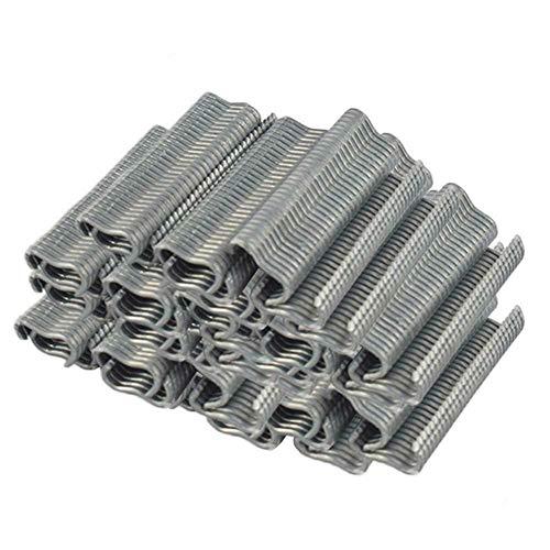 Gelentea 600 Stks M Nagelvarkens Ring kooi vast draad hek voor het binden Fixing Matrassen Kooi Snap Clip Klem