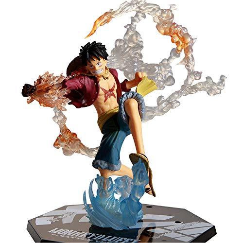 Khosd One Piece Monkey.D.Luffy Figura Animado Figura, PVC Figuras de acción para Adultos Juguetes Figuras de Anime, Aproximadamente 20 cm de Altura
