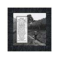 Elegantly Yours Coal Miners Prayer Picture Frame, Coal Mining Gifts, Miners Décor, 10x10 8592CH [並行輸入品]