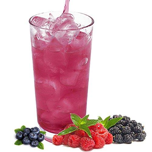 Waldfrucht Geschmack extrem ergiebiges Getränkepulver für Isotonisches Sportgetränk Energy-Drink ISO-Drink Elektrolytgetränk Wellnessdrink (333 g)