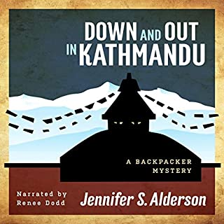 Down and Out in Kathmandu: A Backpacker Mystery audiobook cover art
