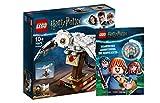 Collectix Lego Harry Potter - Set: 75979 Hedwig™ + Magische Abenteuer in Hogwarts mit Minifigur Ron Weasley & Krätze (Softcover)