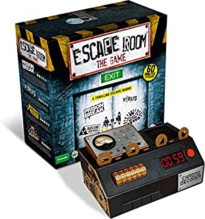 Escape Room The Game - 4 Rooms Plus Chrono Decoder Strategy Game