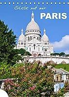 Erlebe mit mir Paris (Tischkalender 2022 DIN A5 hoch): Die grossartige Stadt der Mode (Monatskalender, 14 Seiten )