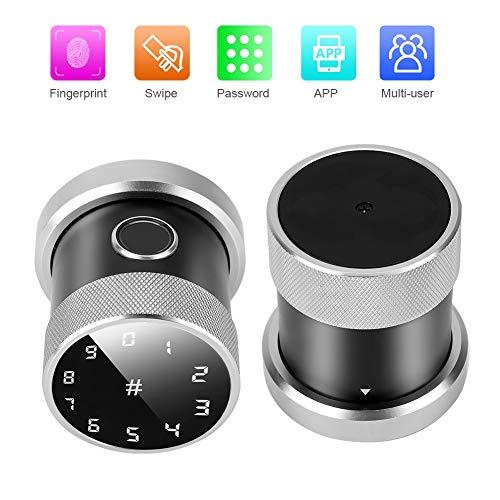 Vingerafdrukslot, Bluetooth-slot Bluetooth-app-beveiliging deurslot Slimme vingerafdrukslot Wachtwoordslot voor binnendeuren, houten deuren, kamerdeuren, huurdeuren en kantoordeuren