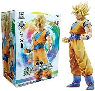 Banpresto 49762 Dragon Ball Z Master Stars Piece King of Coloring Super Saiyan Son Goku Action Figure, 10.5