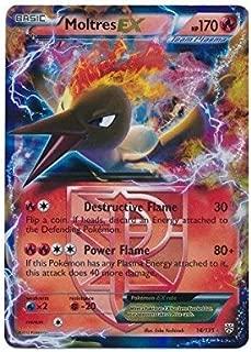 Pokemon - Moltres-EX (14) - Black and White Plasma Storm - Holo