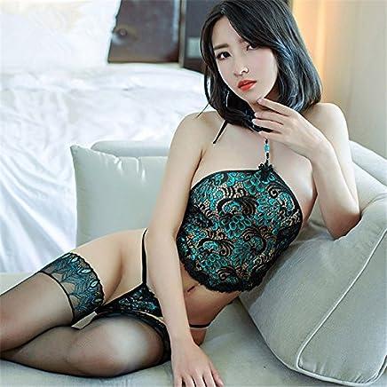 Lingerie Pics Hot Bleu Vert Sexy Aj34LR5