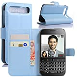 HualuBro BlackBerry Classic Hülle, Premium PU Leder