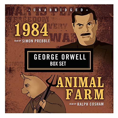 George Orwell Boxed Set (1984 and Animal Farm)