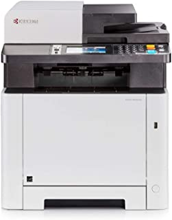 Kyocera 1102R72US0 ECOSYS M5526CDW Monochrome Multifunctional Printer; Up to 27 B&W PPM and 27 Color PPM; Print, Scan, Copy and Fax; Resolution 1200 x 1200 Dpi