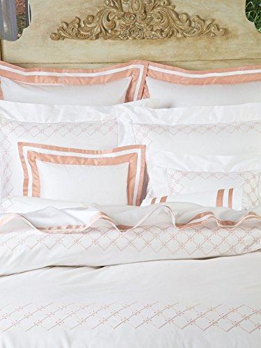 Learn More About Schweitzer Linen Fairfax Shams, Pink (Euro, Each)