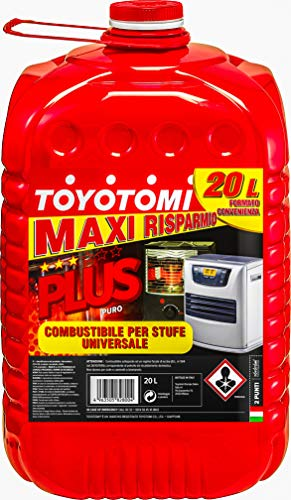 Toyotomi Plus Zibro Petroleum, rot, 20 litri