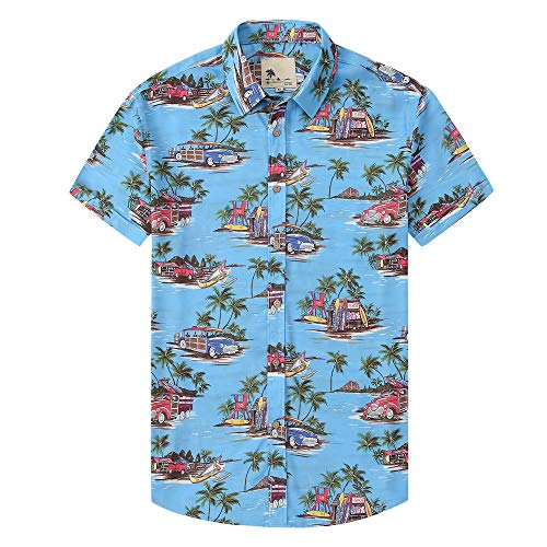Camisas hawaianas Damipow para hombre