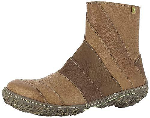El Naturalista N5440 Nido Damen Ankle Boots,Frauen Stiefel,Halbstiefel,Stiefelette,Bootie,knöchelhoch,Reißverschluss,Cuero,EU 36