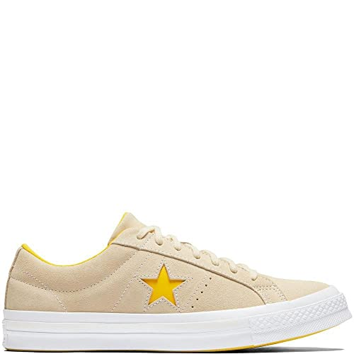 Converse Unisex Adults  Lifestyle One Star Ox Suede Fitness Shoes White c39e9c1c2