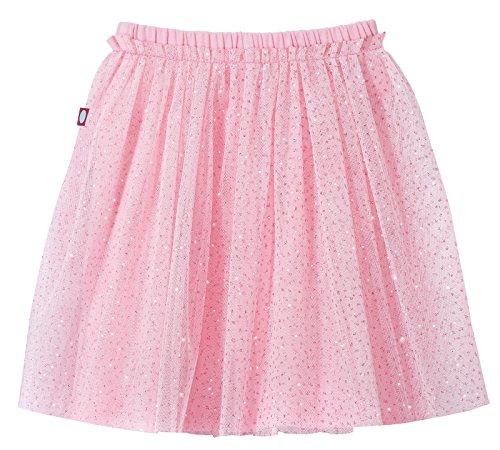 moily Kids Girls Basic Chiffon Pleated Ballet Dance Wrap Skirts Mini  Pull-On Leotard Active Dress Clothing Active