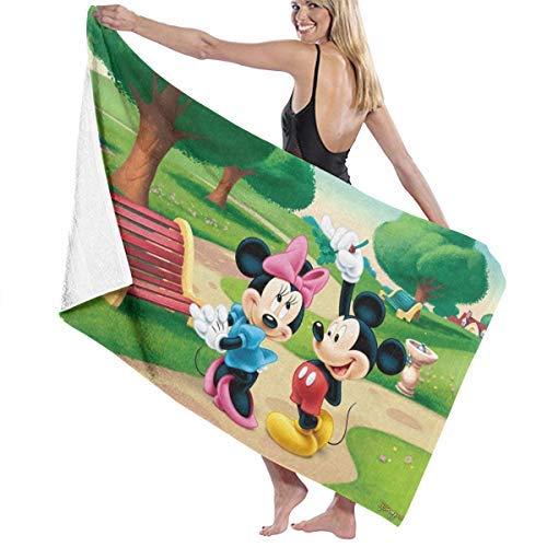 Duschtücher Schnelltrocknendes Handtuch für Travel Beach Bad Schwimmen Camping Maus Minnie Maus Schnelltrocknende Schwimmen Strandtücher 130 * 80cm