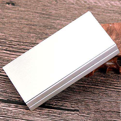 AFD Czz Zigarettenetui, Automatische Öffnung Der Zigarettenetui, Ultra-Dünne Männer Und Frauen,B,Zigarettenschac