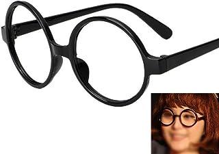 b16ffa32c4 1pc Ronda retro forma de la montura de cristal Negro sin lentes para el  hombre y