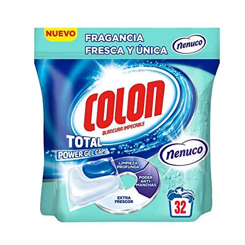 Colon Detergente Total Power Gel Caps Nenuco - 32 Dosis